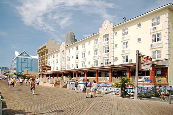 Plim Plaza Nd Street Boardwalk Ocean City Md
