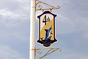 4th Street Sign in Ocean City