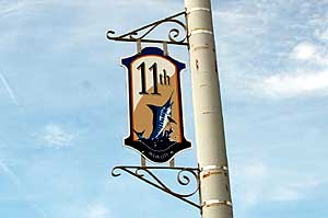 11th Street Sign in Ocean City