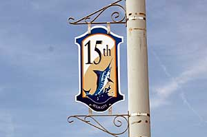 15th Street Sign in Ocean City