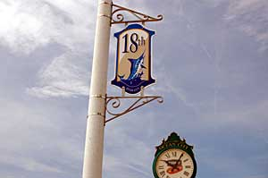 18th Street Sign in Ocean City