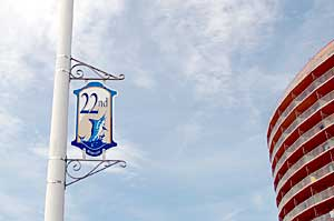 22nd Street Sign in Ocean City