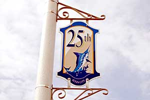 25th Street Sign in Ocean City