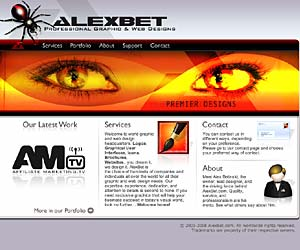 AlexBet Professional Graphic & Web Designs in Ocean City