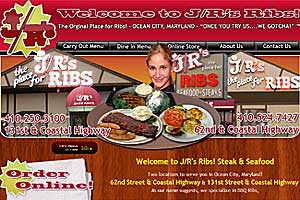 J/R's The Place For Ribs in Ocean City