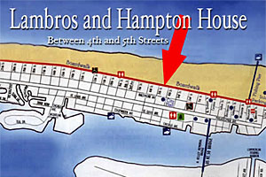 Lambros and Hampton House Hotel Apartments in Ocean City