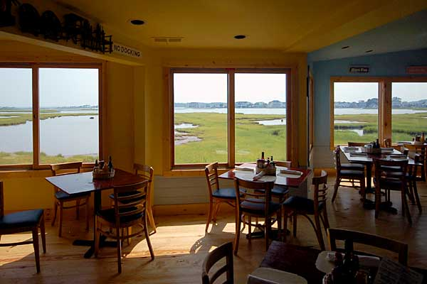 Seafood Bar, Market & Grille - A funky little place with a water view. - Ocean City Maryland