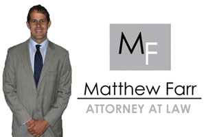 Matthew Farr,<br>Attorney at Law in Ocean City