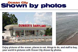 Ocean City Shown By Photos in Ocean City