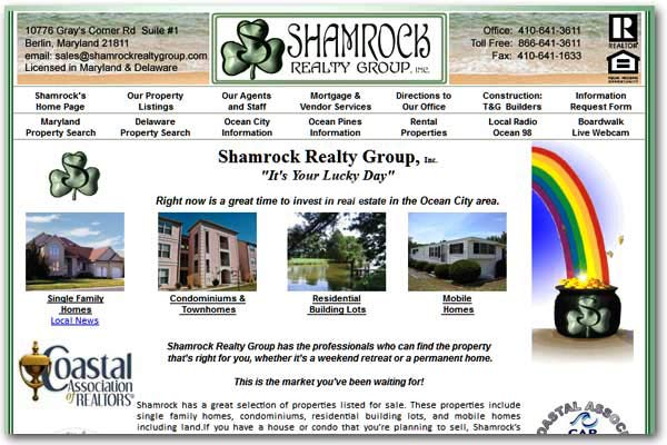 Shamrock Realty has the professionals who can find the property that's right for you. - Ocean City Maryland