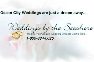 Weddings by the Seashore in Ocean City