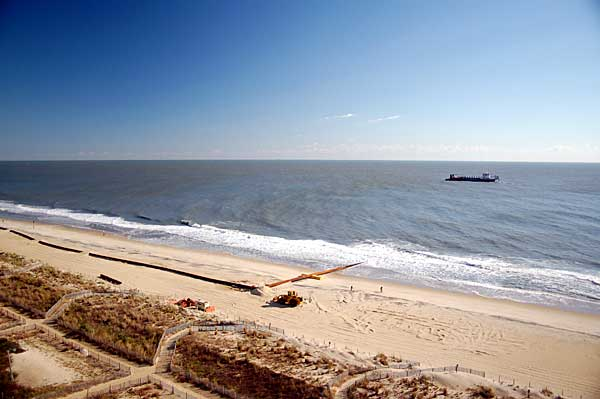 Ocean City's Beach Replenishment