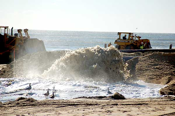 Beach Replenishment - Ocean City, Maryland