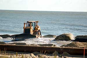 Picture of Beach Replenishment in OCMD