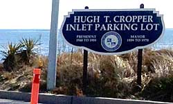 Hugh T. Cropper Inlet Parking Lot