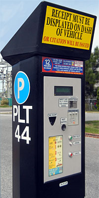 Ocean City Parking Machine
