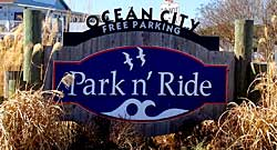 West Ocean City Park n Ride